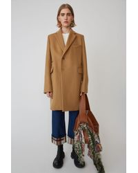 Acne Studios - Single Breasted Jacket camel Brown - Lyst