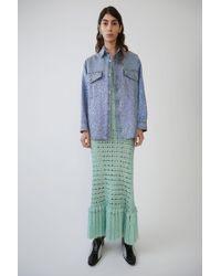 Acne Studios - Western Shirt blue Vintage - Lyst