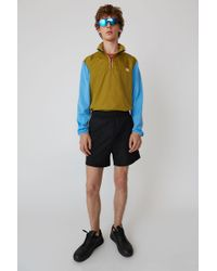 Acne Studios - Relaxed Fit Short black - Lyst