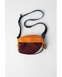 Acne Studios - Hidey Burgundy Mixed Material Bag - Lyst