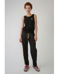 Acne Studios - Track Trousers black - Lyst