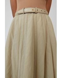 Acne Studios - Pleated skirt - Lyst