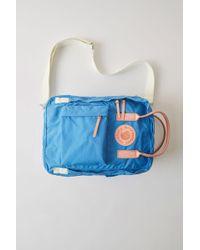 Acne Studios - Kånken Messenger A/f Blue Messenger Bag - Lyst