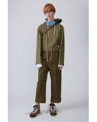 Acne Studios - Carpenter Trousers khaki Green - Lyst