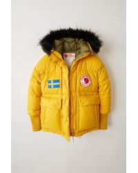 Acne Studios - Expedition W A/f Sunflower Yellow Reversible Down Jacket - Lyst