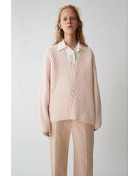Acne Studios - Deborah L-wool light Pink - Lyst