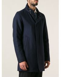 Herno B Zip Coat - Lyst