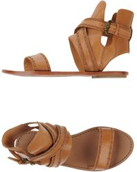 Ash Brown Sandals - Lyst