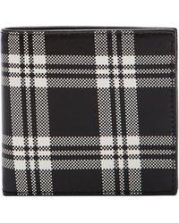 Alexander McQueen Scottish Tartan Classic Wallet - Lyst