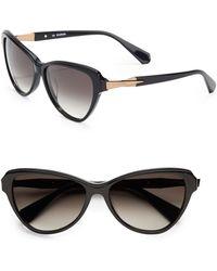 Balmain 56Mm Cat'S-Eye Sunglasses - Lyst