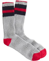 J.Crew R Camp Socks - Lyst