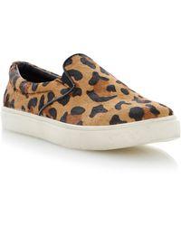 Steve Madden Ecentric Almond Toe Slip On Sneakers - Lyst