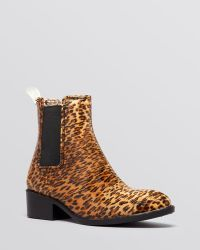 Jeffrey Campbell Rain Booties - Stormy Double Gore - Lyst