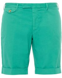 Incotex Stretch-Cotton Poplin Shorts - Lyst