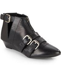 Kelsi Dagger Brooklyn - Babilonia Buckle Ankle Boots - Lyst
