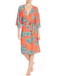daecdaf525ff MINKPINK -  under Your Spell  Floral Robe - Lyst