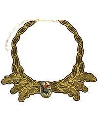 Masterpeace Gold Cavalier Choker - Lyst
