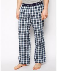 Jack Wills - Check Lounge Bottoms - Lyst