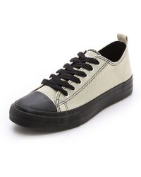 Cheap Monday - Base Low Top Trainers - Lyst