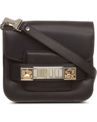 Proenza Schouler Ps11 Dome Tiny Leather Over The Shoulder Handbag - Lyst