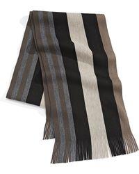 London Fog - Bold Multi-stripe Scarf - Lyst