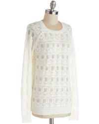 Tulle Dba Morning Glow Lounging in Luxury Sweater - Lyst