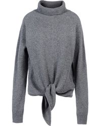 Vanessa Bruno Long Sleeve Sweater - Lyst