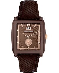 Tommy Bahama - Men'S Swiss Dark Brown Leather Strap 40Mm Tb1125 - Lyst