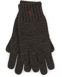 Ralph Lauren - Merino Wool Gloves - Lyst