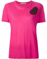 Christopher Kane Pink Molecules Tshirt - Lyst