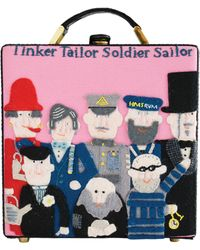 Olympia Le-Tan Tinker Tailor Soldier Sailor Clutch - Lyst
