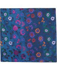 Duchamp Floral Pocket Square - For Men - Lyst