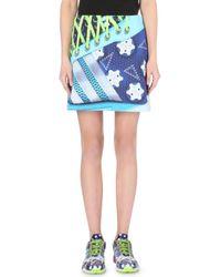 Mary Katrantzou Neoprene Digital Print Skirt - Lyst