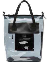 Eytys - Black Semi_sheer Void Tote - Lyst