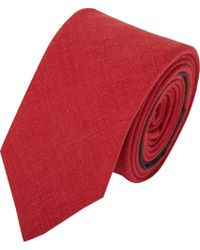 Burberry Prorsum - Textured Linen Tie - Lyst