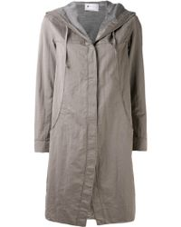 Transit - Hooded Coat - Lyst