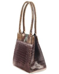 Cashhimi - Chicago Crocodile Tote - Lyst