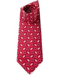 Valentino Vintage Floral Print Tie - Lyst