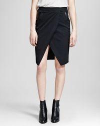 The Kooples Skirt - Twist Stretch - Lyst