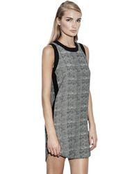 Krisa Shift Mini Dress black - Lyst