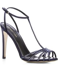 Sergio Rossi Shadows Crystal-embellished Sandals - Lyst