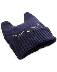 Ana Accessories Inc Cat Nap Hat in Navy - Lyst