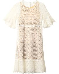Chloé Ring Guipure Lace Dress - Lyst