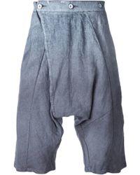 Lost & Found - Drop Crotch Shorts - Lyst