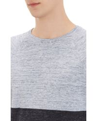 Vince Colorblock Crewneck Sweater - Lyst