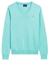 GANT - Pullover V-hals - Lyst