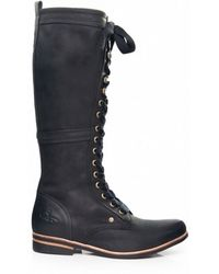 J SHOES - Empire Long Lace Boots - Lyst