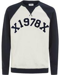 Diesel S-Tae Sweater blue - Lyst