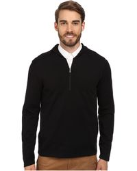 Calvin Klein Ponte Hooded 14 Zip Sweatshirt - Lyst