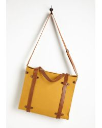 Nila Anthony - Camp Director Tote In Camel - Lyst